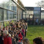 accueil des écoles pendant le festival Prom'nons Nous
