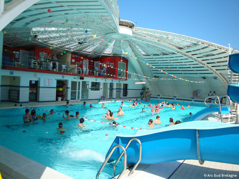 La piscine intercommunale des m tairies commune de nivillac for Piscine de la riche