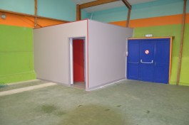 sanitaire salle des sports