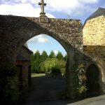 Entrée de l'ancien presbytère de Nivillac